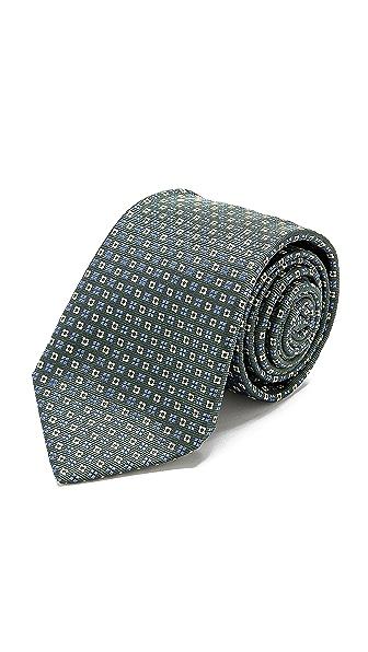 Drake's Medallion Print Tie