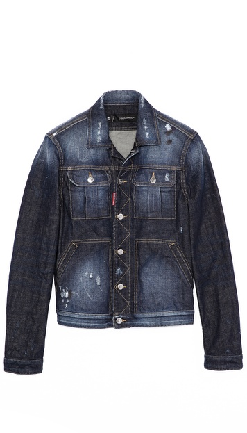 DSQUARED2 Rookie Denim Jacket