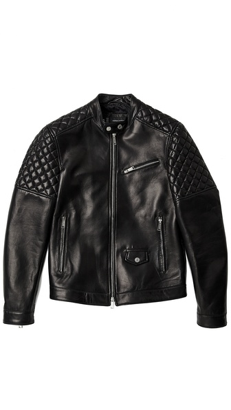 DSQUARED2 Lamb Leather Jacket