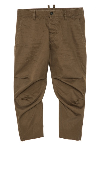 DSQUARED2 Cotton Twill Pants