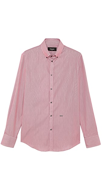 DSQUARED2 Stripe Dress Shirt