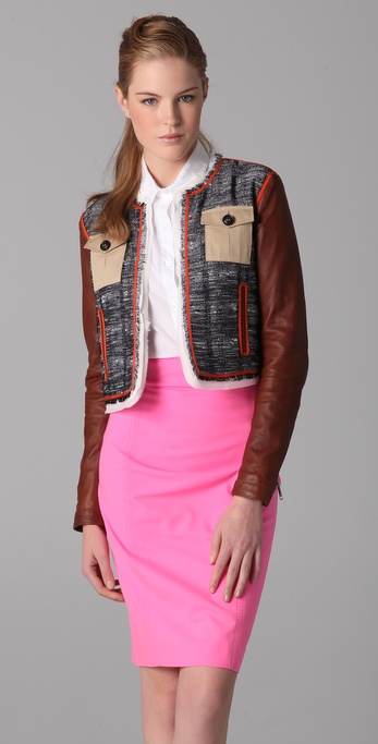 DSQUARED2 Josephine Leather Jacket