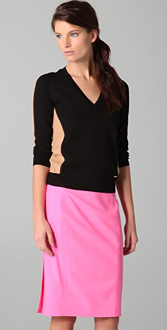 DSQUARED2 Colorblock Sweater