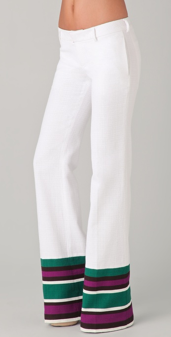 DSQUARED2 Trial Low Waist Flare Pants