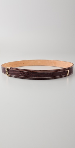 DSQUARED2 Croco Chain Waist Belt