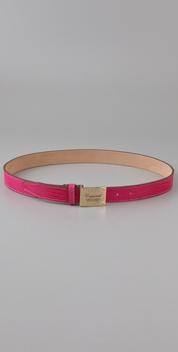 DSQUARED2 Placca Stampatino Belt