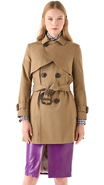 DSQUARED2 Babette Mini Trench Coat