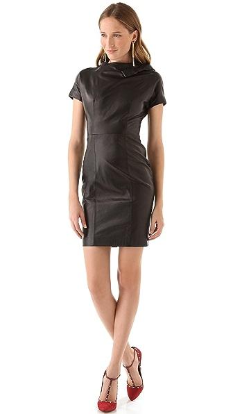DSQUARED2 Marisa Mel Leather Dress