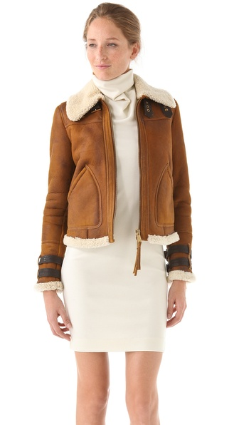DSQUARED2 My Bro Shearling Coat