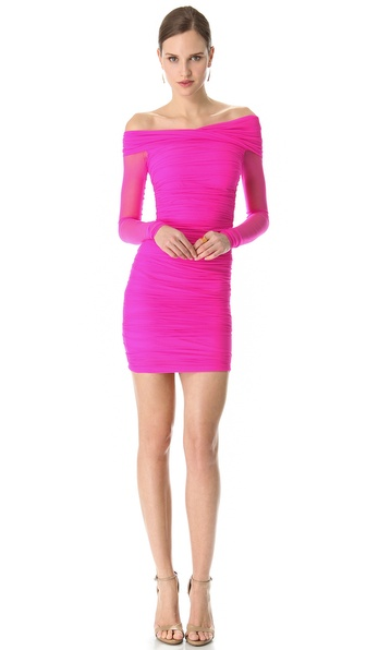 DSQUARED2 Ruched Cocktail Dress