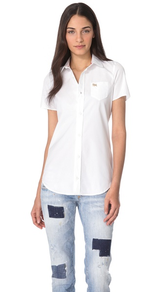 DSQUARED2 Donna Martin Boxy Shirt