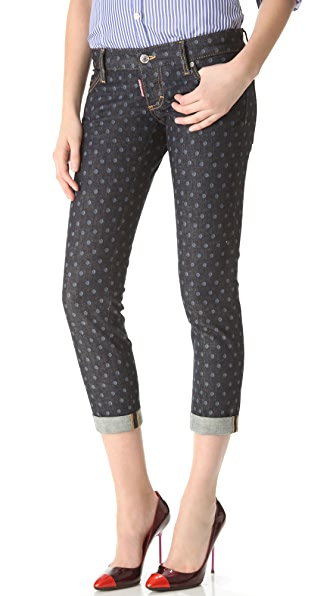 DSQUARED2 Pat Polka Dot Jean