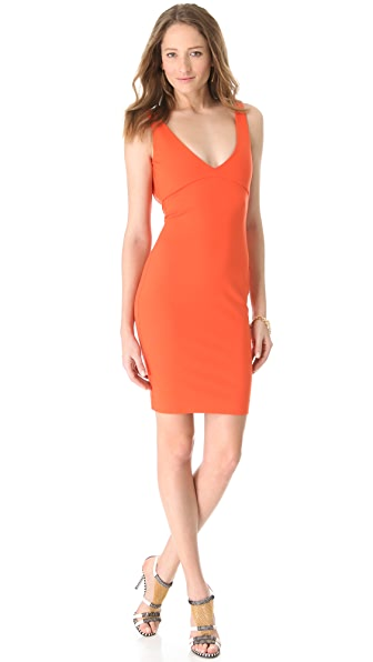 DSQUARED2 V Neck Sleeveless Dress