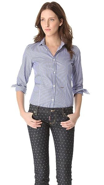 DSQUARED2 Poplin Button Down Shirt