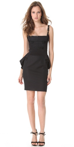 Shop DSQUARED2 Lana Drama Cocktail Dress and DSQUARED2 online - Apparel, Womens, Dresses, Cocktail, Night_Out,  online Store