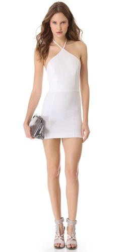 DSQUARED2 Halter Neck Sheath Dress