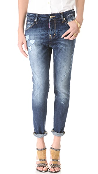 DSQUARED2 Cool Girl Heart Jeans