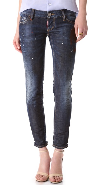 DSQUARED2 Pat Slim Jeans
