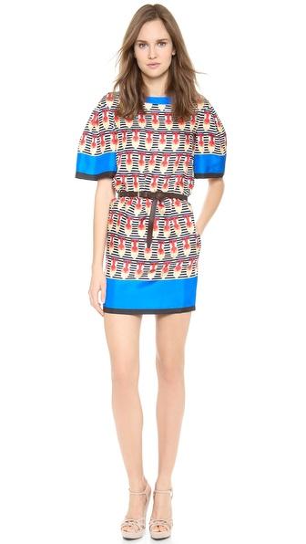 DSQUARED2 Baboon Silk Dress