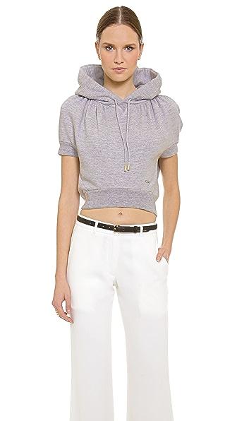 DSQUARED2 Short Sleeve Hooded Sweatshirt