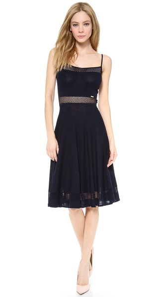 DSQUARED2 Lattice Edge Dress