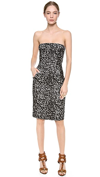 DSQUARED2 Strapless Dress