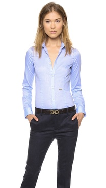 DSQUARED2 Button Classic Shirt