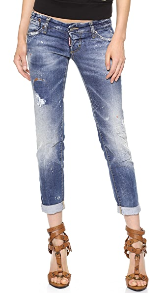 DSQUARED2 Pat Low Rise Jeans