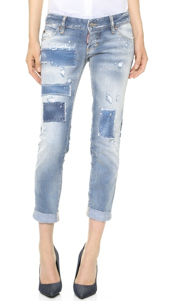 DSQUARED2 Pat Skinny Jeans