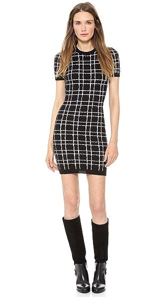 DSQUARED2 Short Sleeve Sweater Dress