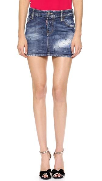 DSQUARED2 Denim Miniskirt