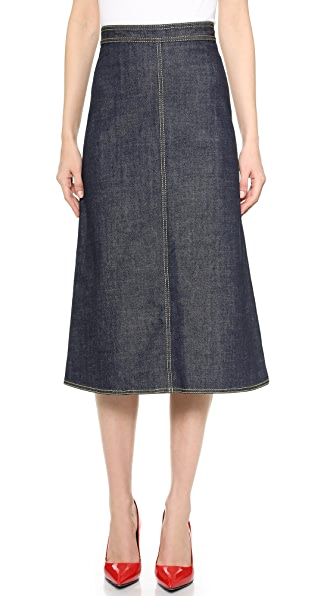 dsquared2 madelein 70s denim skirt shopbop