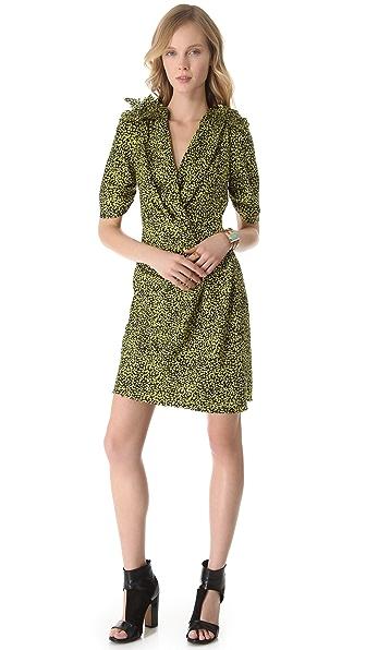 David Szeto Stanwyck 3/4 Sleeve Dress