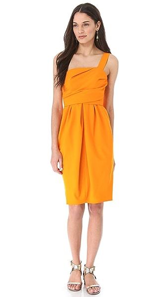 David Szeto Samantha One Shoulder Dress