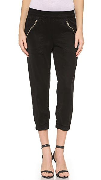 Укороченные брюки Brody DWP. Цвет: голубой