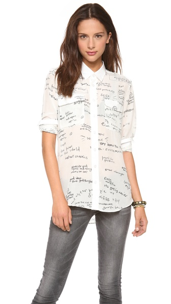 EACH x OTHER Blair Chivers Print Shirt
