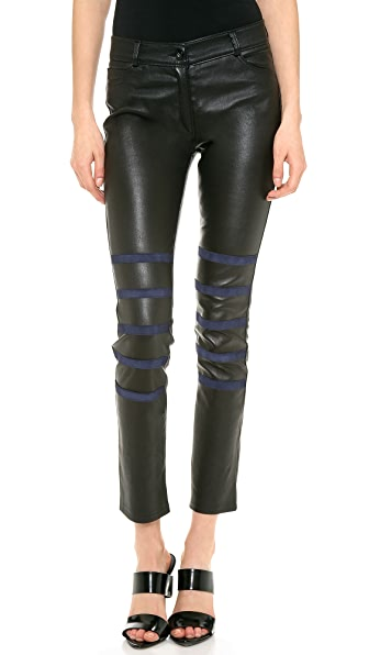 EACH x OTHER Leather Pants