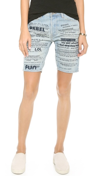 EACH x OTHER Printed Rebel Shorts
