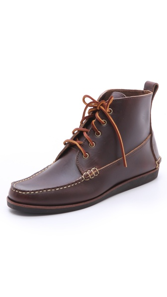 Eastland Made In Maine Seneca USA Camp Moc Boots