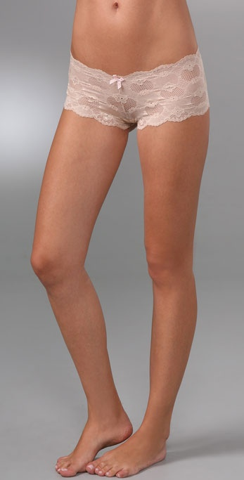 Eberjey Bluebird Isabella Lace Boy Shorts