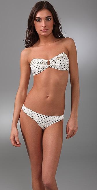 Eberjey Can Can Mimi Bandeau Bikini Top