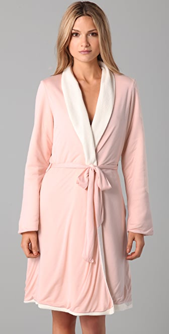 Eberjey Alpine Chic Reversible Robe