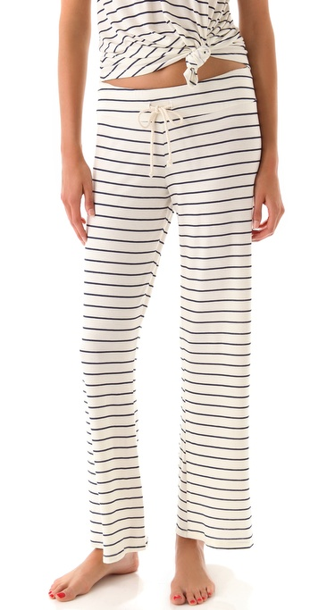Eberjey Coastal Stripes Pants