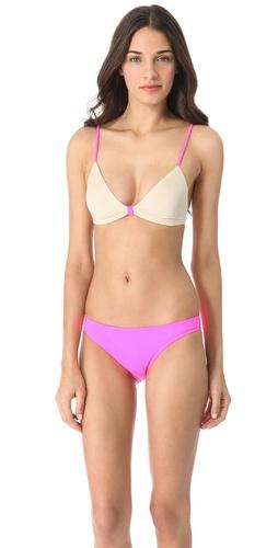 Eberjey Beach Glow Gracie Bikini Top
