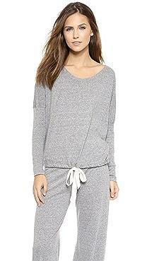 Eberjey Heather Slouchy Pajama Top