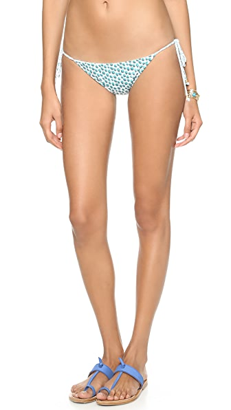 Eberjey Petite Batik Reversible Eva Bikini Bottoms