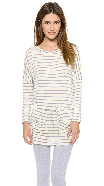 Eberjey Lounge Stripes Slouchy Tunic