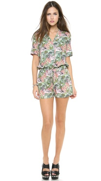 Emma Cook Hawaiin Romper