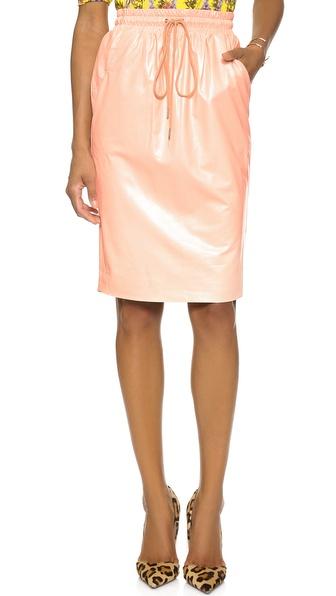 Emma Cook Leatherette Skirt