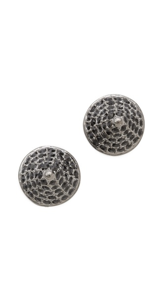 Eddie Borgo Pave Cone Stud Earrings